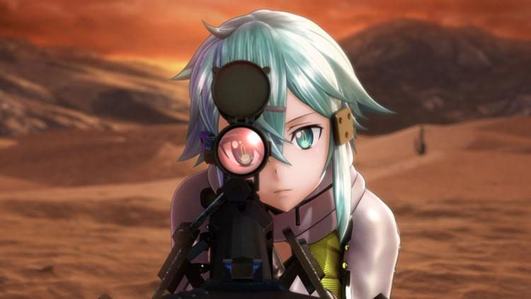opening de Sword Art Online: Fatal Bullet