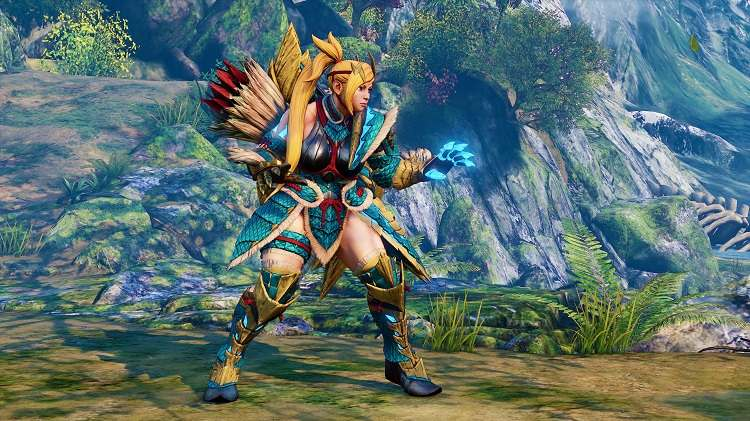 trajes de Monster Hunter en Street Fighter V