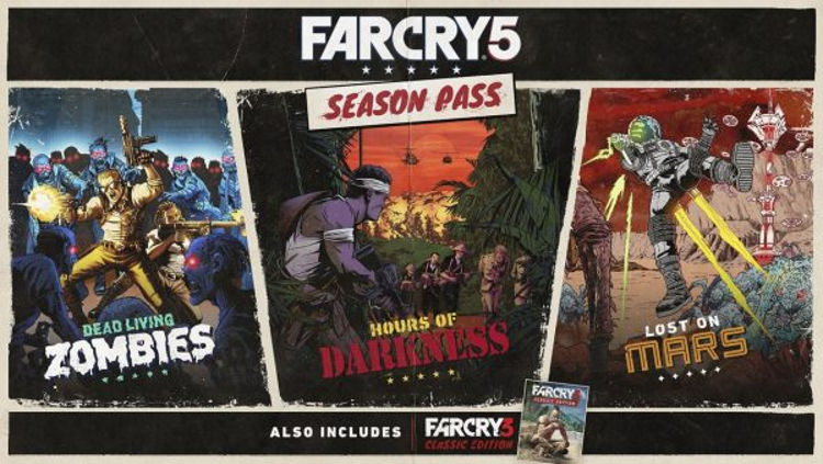 Pase de temporada de Far Cry 5