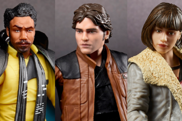 figuras de Solo: A Star Wars Story