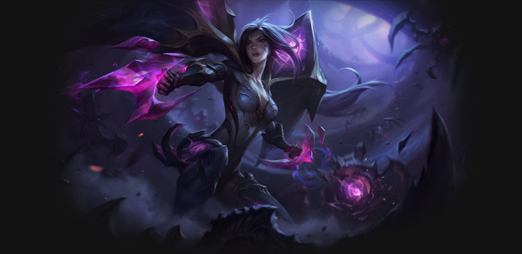 anuncio de kai'sa de league of legends