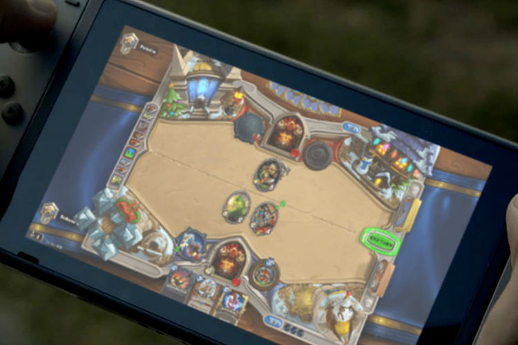 port de Hearthstone en Switch 2