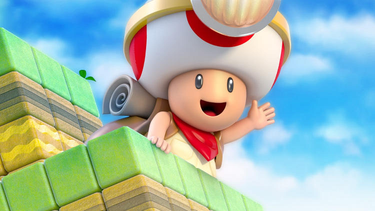 Lanzamiento de Captain Toad: Treasure Tracker en Nintendo Switch y Nintendo 3DS