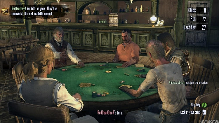 Poker en Red Dead Redemption