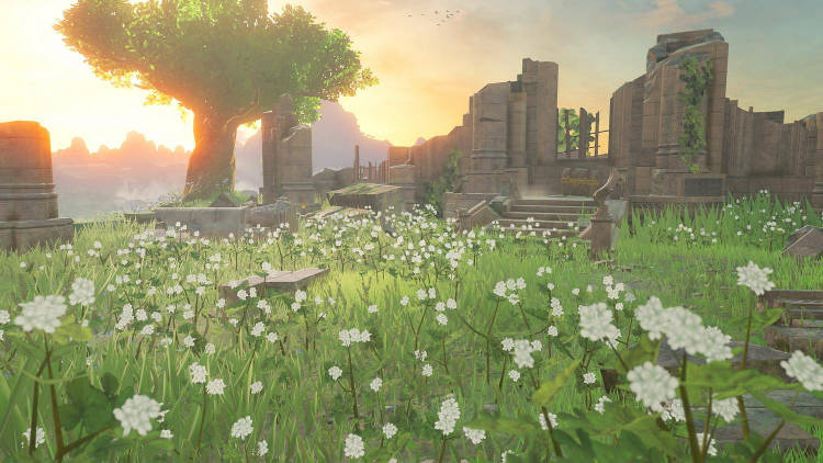 Ruinas Breath of the Wild