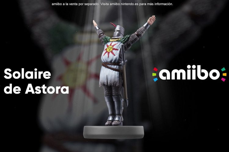 Un amiibo de Dark Souls para Switch