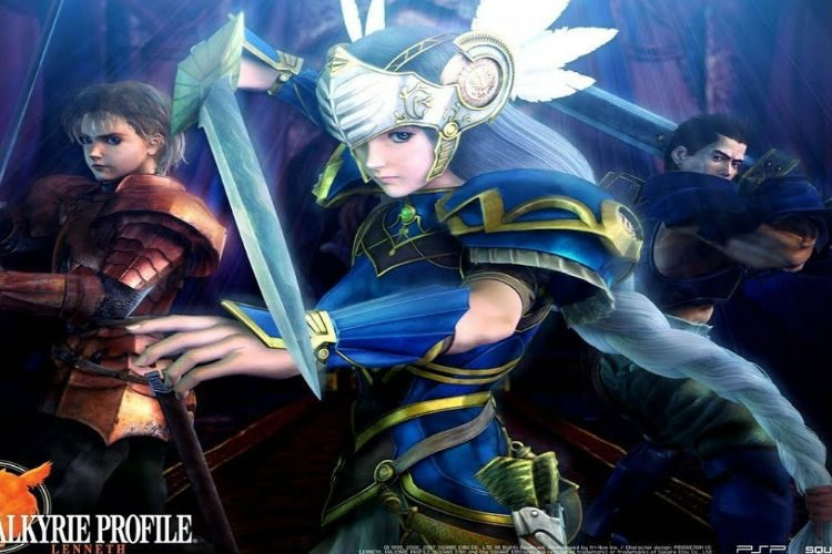 gameplay de valkyrie profile lenneth