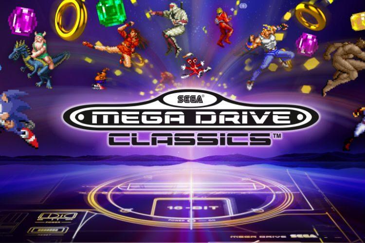 lanzamiento de sega mega drive classics