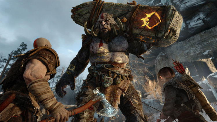 Sony muestra en vídeo como lucha Kratos en God of War