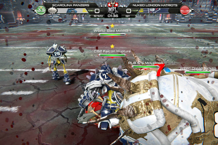 analisis de mutant football league 2
