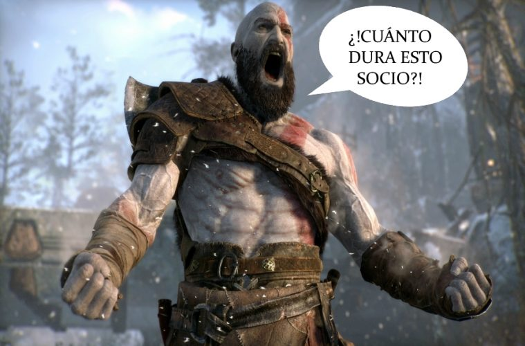 cuánto dura God of War