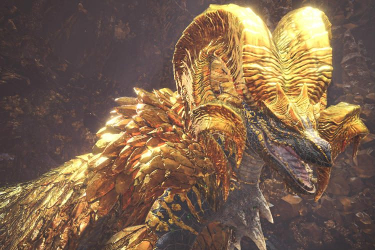 kulve taroth nuevo dragon de Monster hunter world