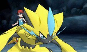 nuevo pokemon de pokmon ultrasol y ultraluna zeraora