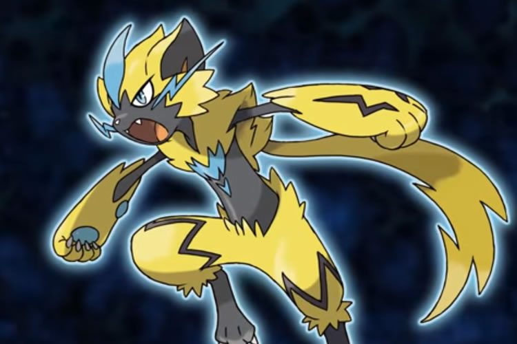 nuevo pokemon de pokmon ultrasol y ultraluna zeraora portada