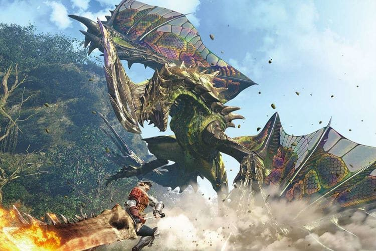 parche 2.01 de monster hunter world