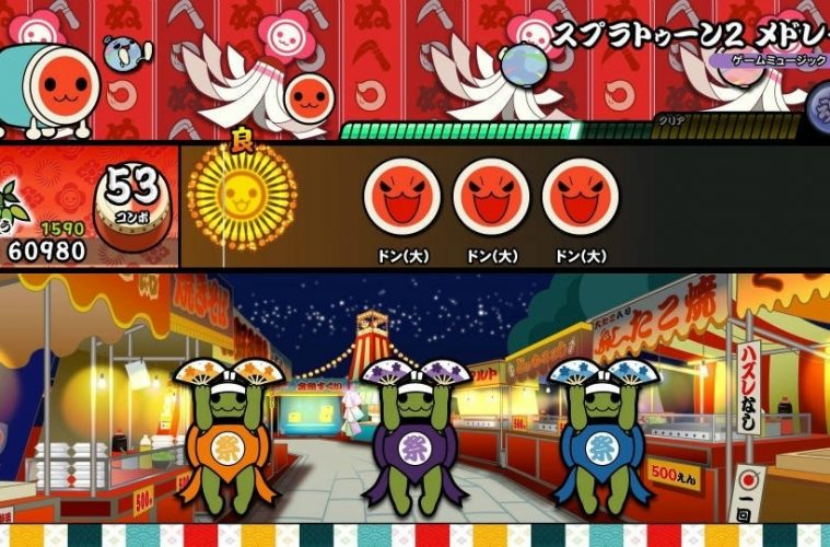 primeros detalles de taiko drum master nintendo switch version 2