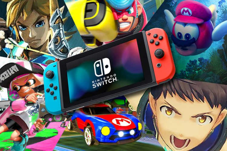 videojuegos más vendidos de Nintendo Switch