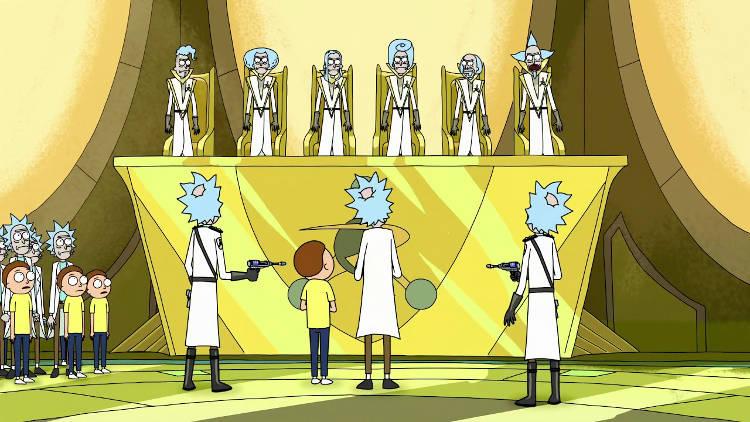 Nuevos capítulos de Rick y Morty