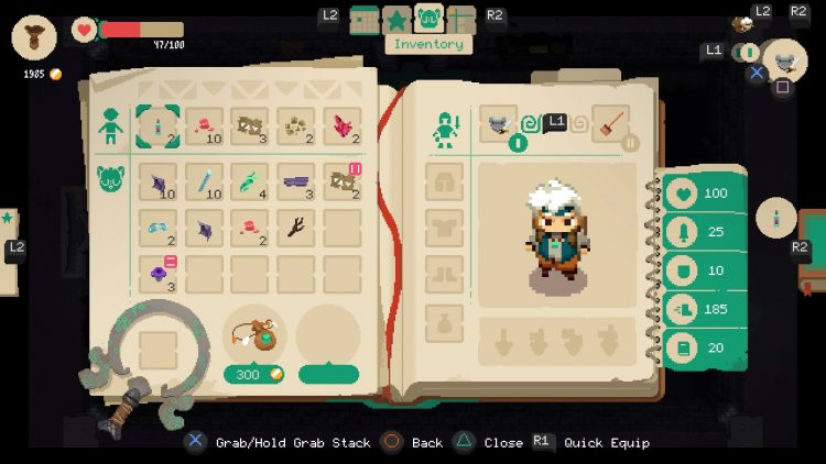análisis de Moonlighter para PS4