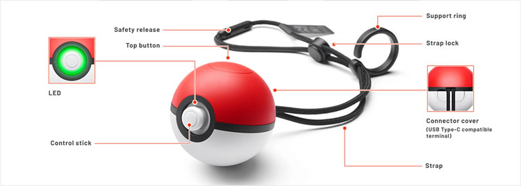 como funciona la pokeball plus