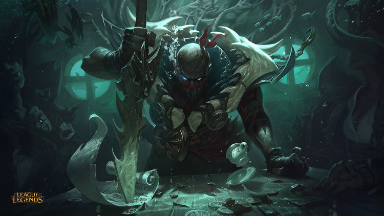detalles de pyke de league of legends