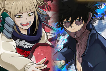 Dabi y Toga en My Hero One's Justice