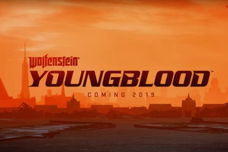 anuncio de wolfenstein youngblood