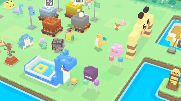 descargas de Pokémon Quest en Switch