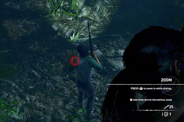 gameplay de Shadow of the tomb raider del E3