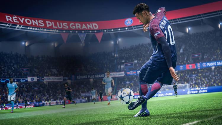 gameplay de FIFA 19 en Nintendo Switch