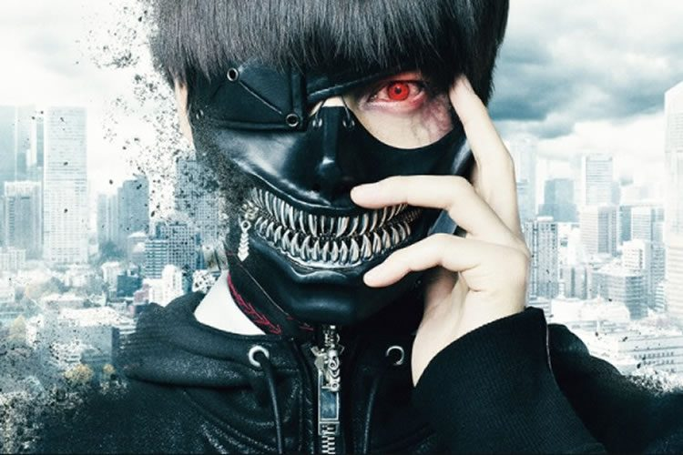 listado de cines que emitiran el live action de tokyo ghoul
