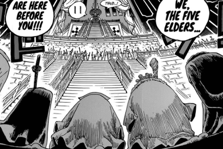 manga de one piece 908 ancianos