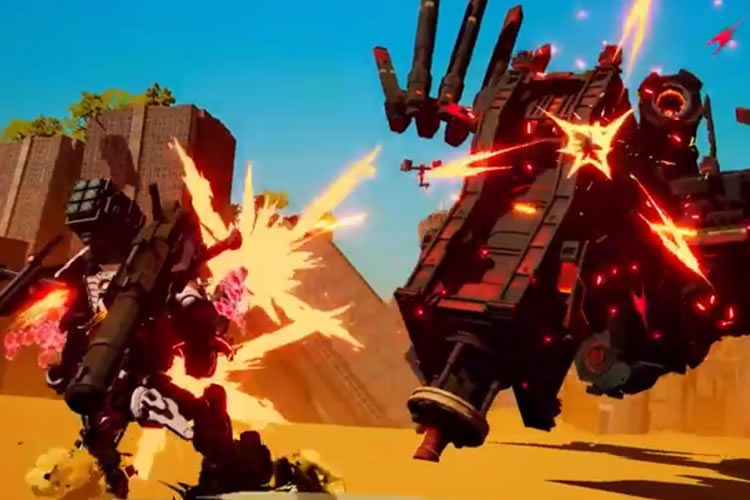 anuncio de daemon x machina