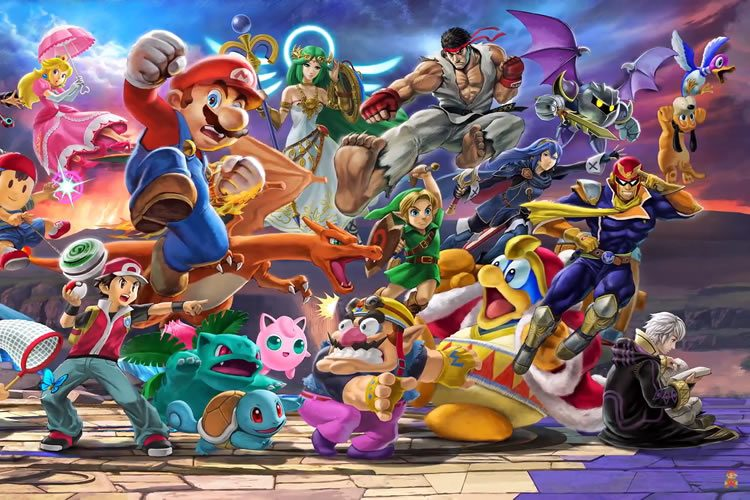 personajes de Super Smash Bros. Ultimate