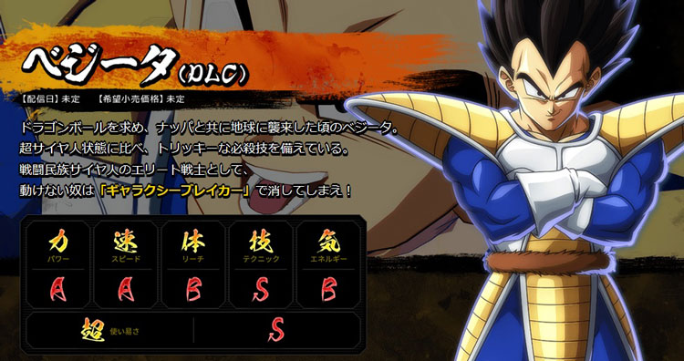Las estadísticas de Goku y Vegeta base en Dragon Ball FighterZ son de risa