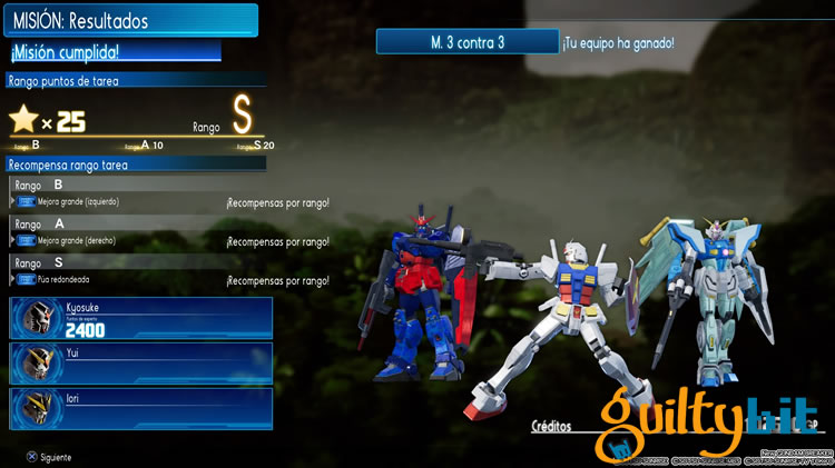 analisis de new gundam breaker batalla 3