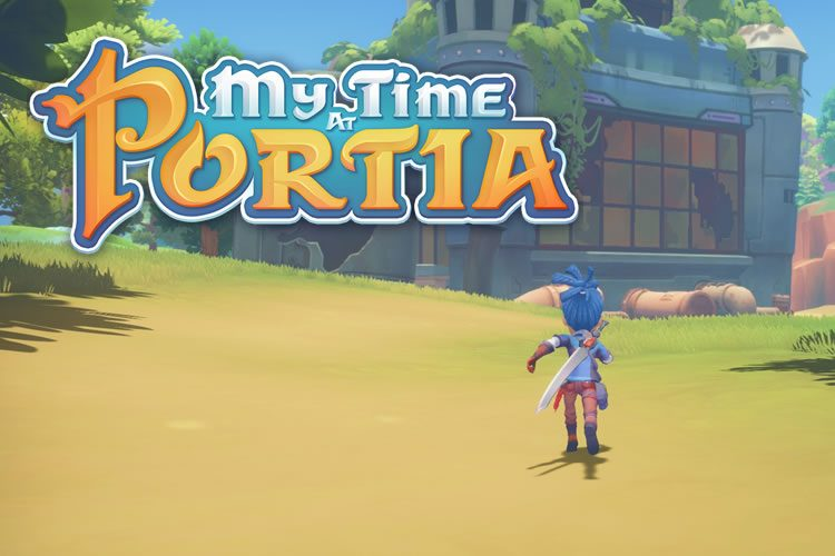 impresiones de my time at portia portada