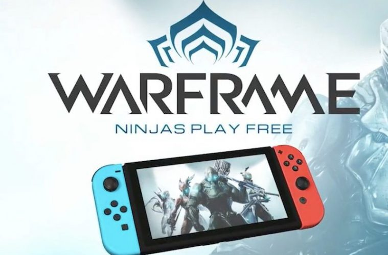 lanzamiento de warframe en switch