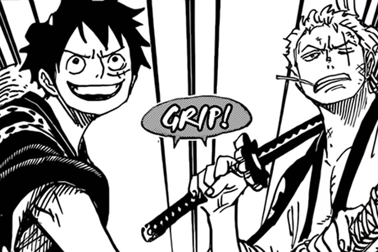 manga de one piece 912 luffy y zoro