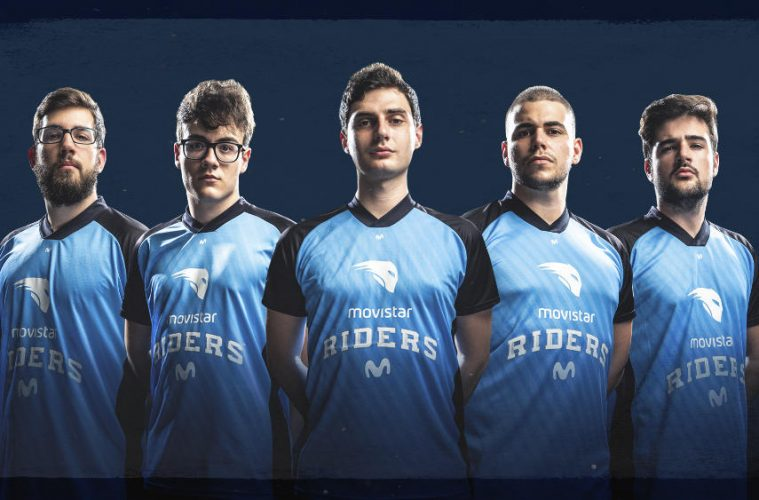 Mixwell en Movistar Riders