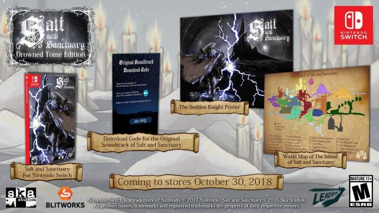 Drowned Tome Edition de Salt and Sanctuary