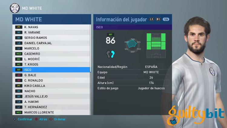 Media-de-los-jugadores-del-Real-Madrid-en-PES-2019-Isco