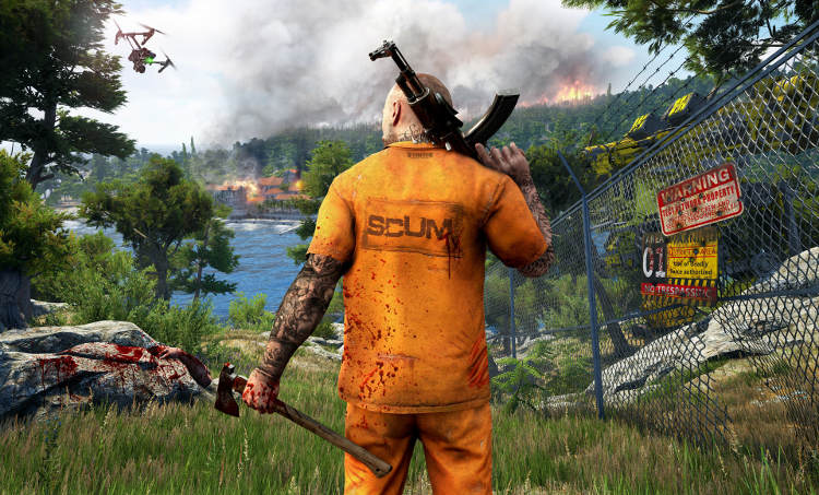 SCUM early access en Steam