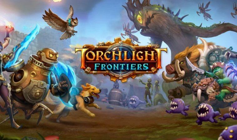 anuncio de torchlight frontiers