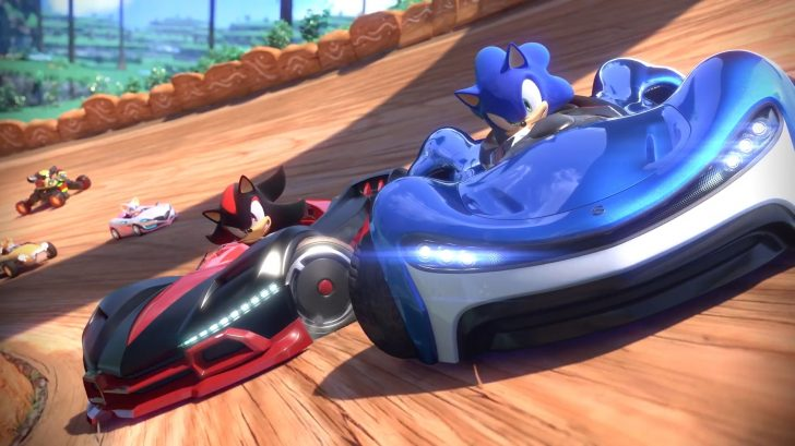 como se juega a Team Sonic Racing