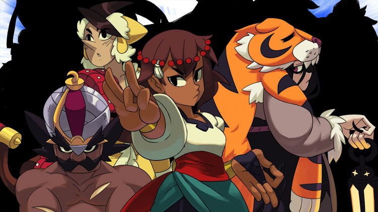gameplay de indivisible en la gamescom 2018