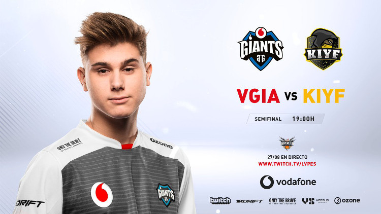 Giants, primer finalista de la Superliga Orange de League of Legends