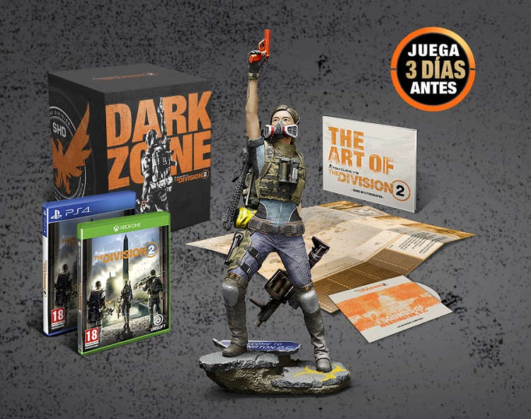 todas las ediciones de The Division 2