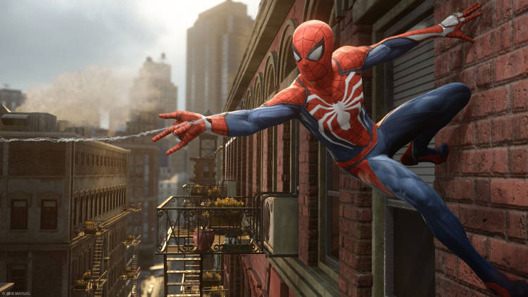 trailer de Nueva York de Spider-Man para PS4
