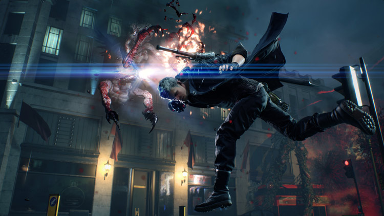Las habilidades de Nero protagonizan el último gameplay de Devil May Cry 5